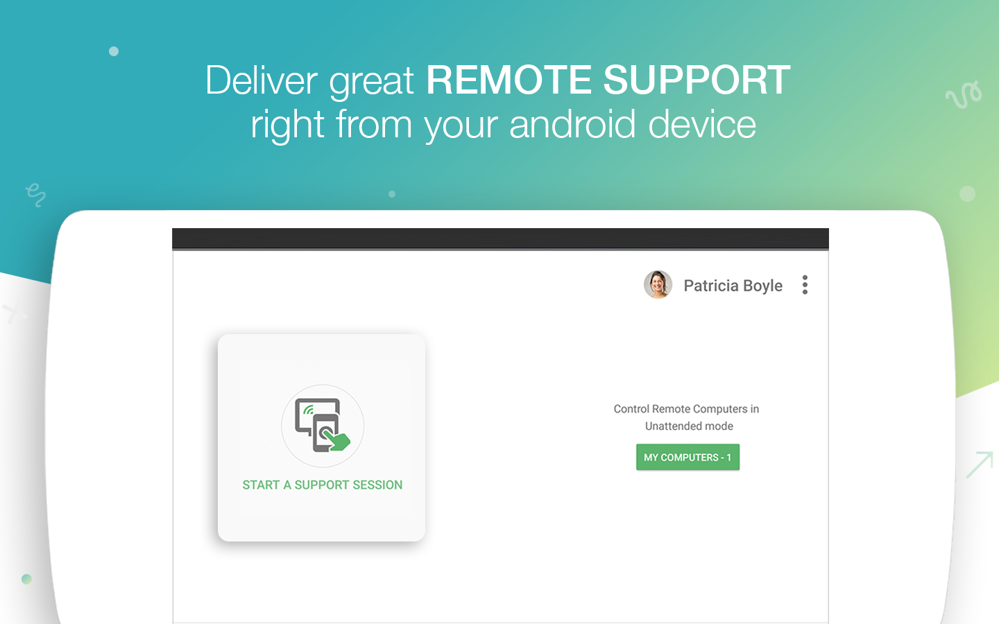 Remote Support and Remote Desktop - Zoho Assist- screenshot