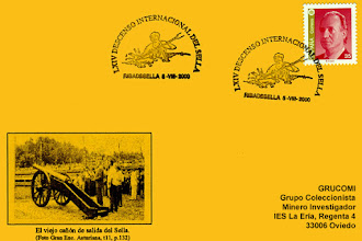 Photo: Tarjeta del matasellos del descenso del Sella en Piragua de 2000