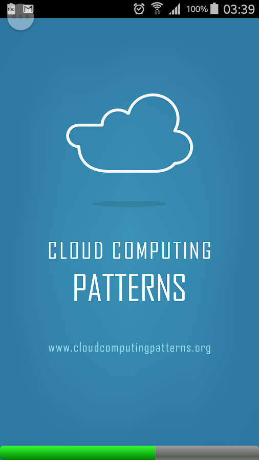 Cloud Computing Patterns- screenshot