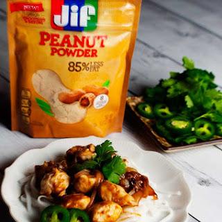 Peanut Butter Stir Fry Chicken