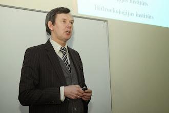 Photo: LU ÌZZF profesors Mâris Kïaviòð.
