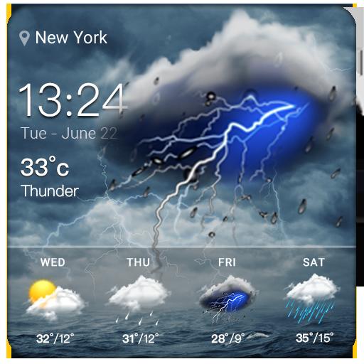 Clock&Weather Widgets Free