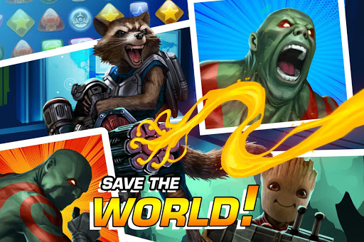MARVEL Puzzle Quest: Join the Super Hero Battle!  screenshots 4