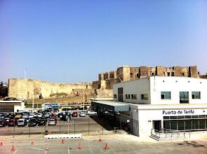 Photo: Tarifa ferry terminal, getting ready to head to Tangier, Morocco!