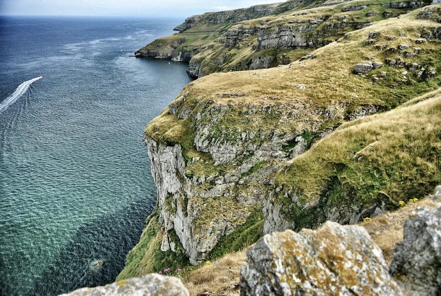 Coast by Yvonne Katcher - Public Holidays Other ( water, mountains, sky, blue, sea, rocks, coast )