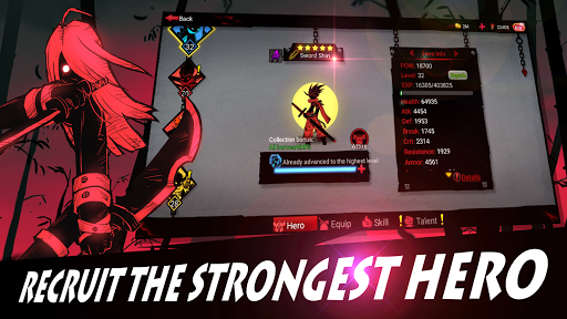 League of Stickman 2-Online Fighting RPG 1.2.7 screenshots 3