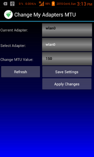 Change My Adapters MTU