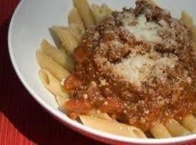 Homemade Mostacioli