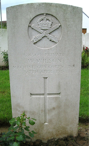 William Wilson grave