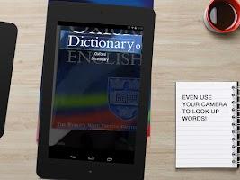 Screenshot of Oxford Dictionary of English