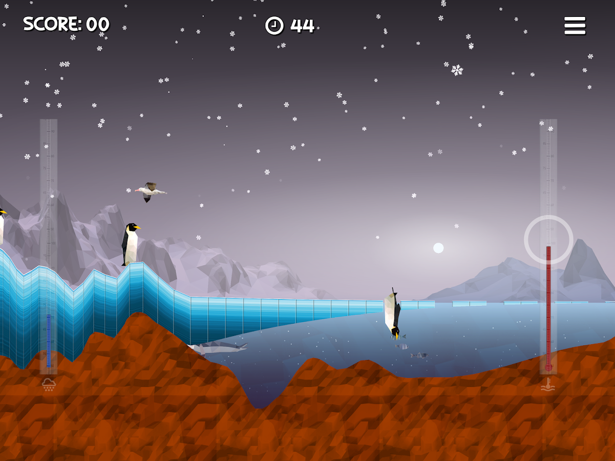 Ice Flows- screenshot