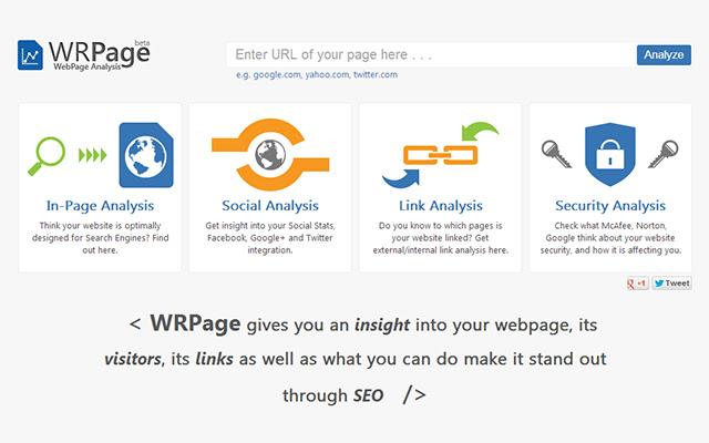 In-Page SEO Analysis
