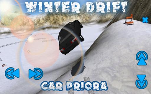 Winter Drift Car VAZ PRIORA