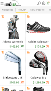 Great Golf Deals.com screenshot 1