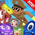 little singham game, Singham wala game : Virus war icon