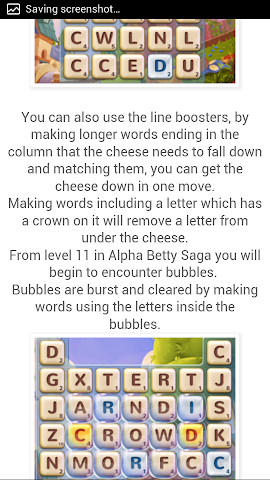 android Best Guide For Alphabetty Saga Screenshot 1
