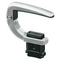 König & Meyer 14530 GUITAR CAPO mat chrome