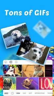 Klávesnice GIF - náhled