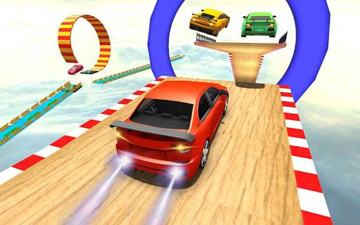 Car Racing Stunt Game - Mega Ramp Car Stunt Games apkpoly screenshots 4