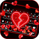 Broken Hearts Gravity Keyboard Background icon
