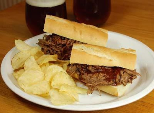 Barbecue Beef Sandwiches Recipe