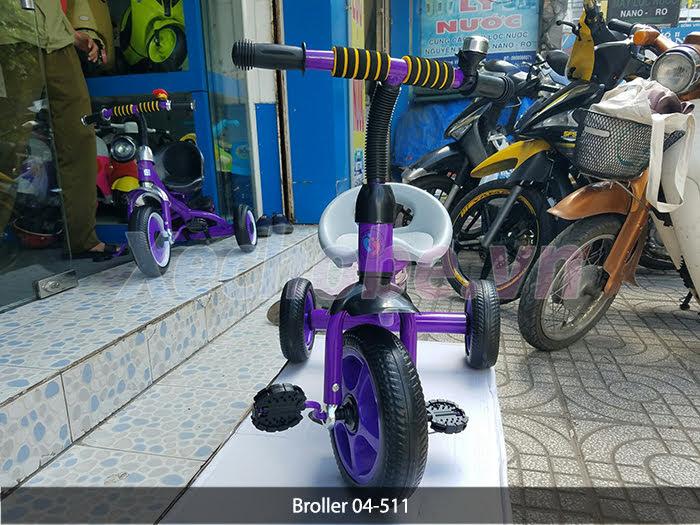 xe đạp cho bé 3 bánh 511