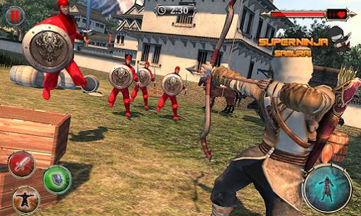 Super Ninja Kungfu Knight Samurai Shadow Battle 4