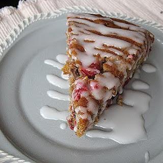 Cranberry Pumpkin Coffee Cake