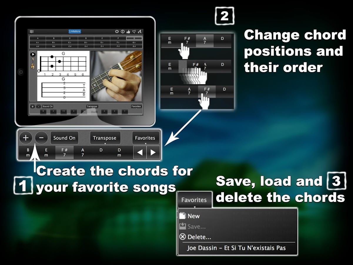Ukulele Chords lite- screenshot