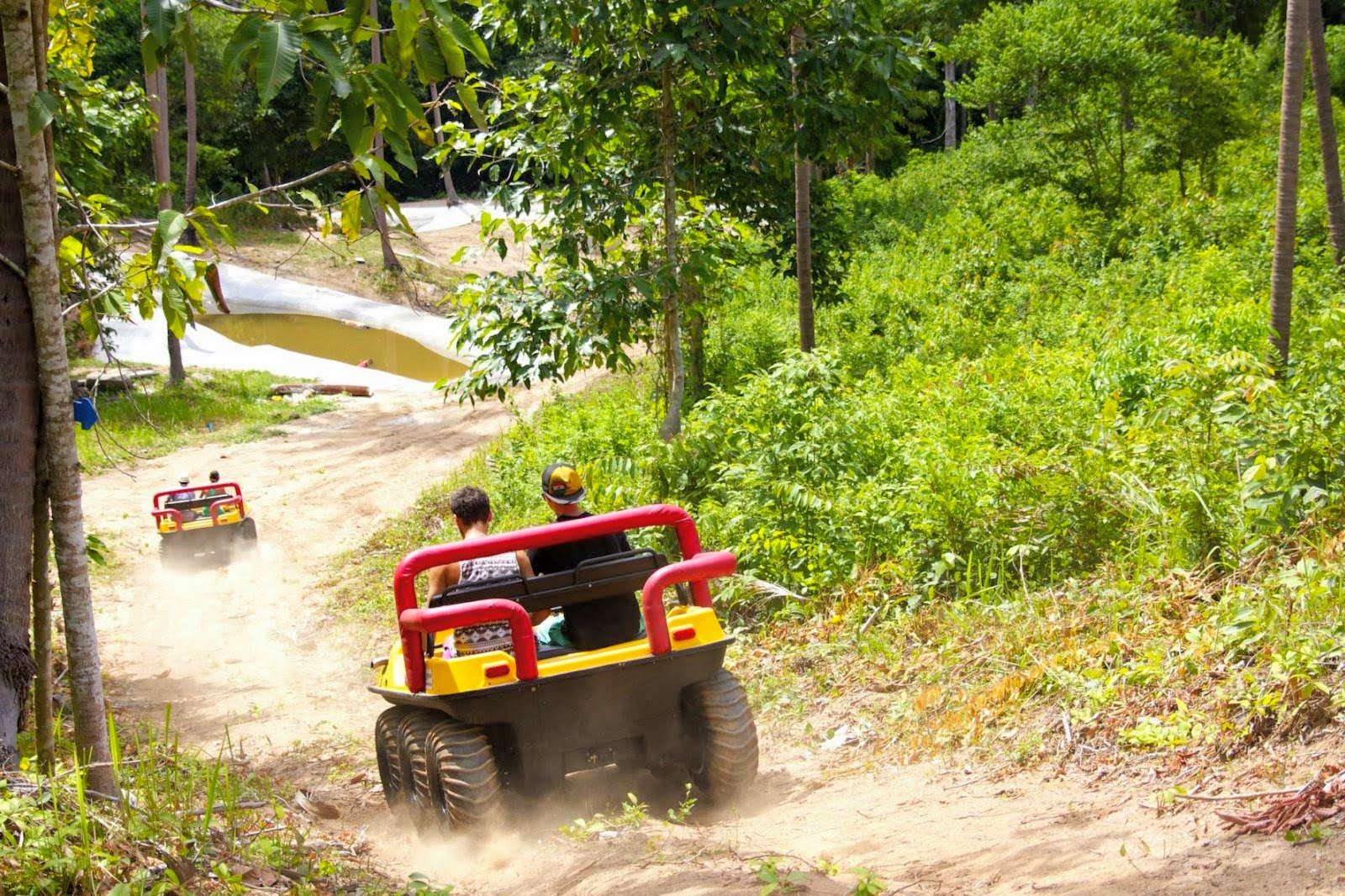 Half-Day Trip to Saiyor Garden with amphibious ATV Ride