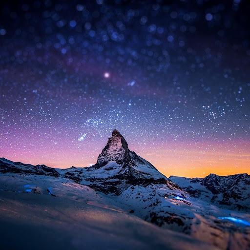 午夜的天空动态壁纸