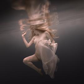 Motion by Dmitry Laudin - Nudes & Boudoir Artistic Nude ( beauty, underwater, nude, dive, portrait, water, swim )