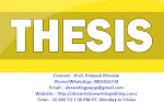 Get the High Quality PhD Thesis Writing Services at Bhopal