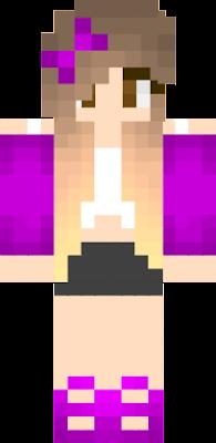 Lyna Nova Skin - Skins para minecraft pe mujeres