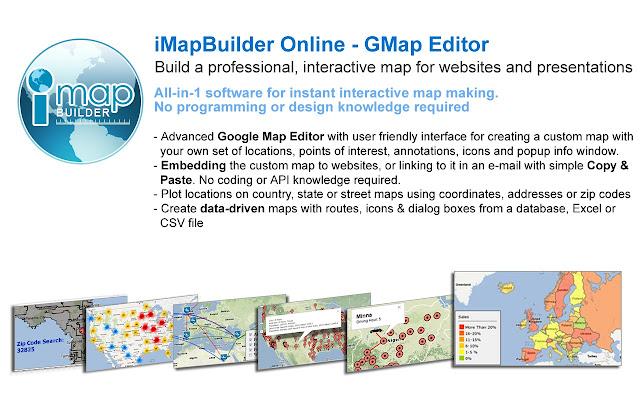 iMapBuilder Online - GMap Editor