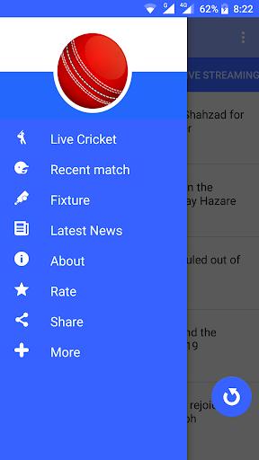 Live Cricket Streaming 1.0 screenshots 5