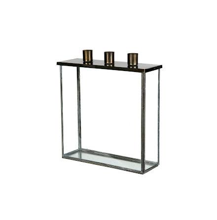 Glasbox för ljus