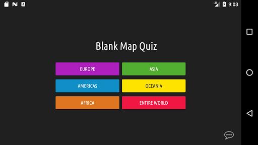 Blank Map Quiz screenshots 2