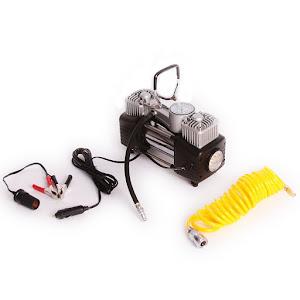 Compresor auto 2 cilindri 4x4, 75 l/min cu iluminare