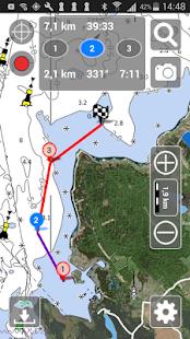 Aqua Map Estonia Marine GPS - náhled