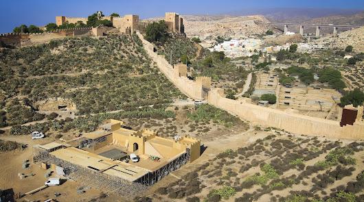 Las huellas del cine en La Alcazaba