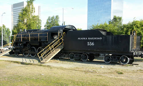 Things to Do in Anchorage Alaska // Alaska Railroad, Downtown Anchorage