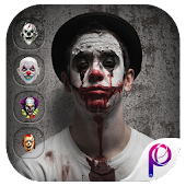 Scary Killer Clown Mask - Face Changer Pro