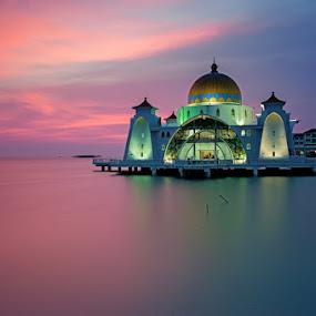 Selat Mosque by Azri Suratmin - Travel Locations Landmarks ( famous landmarks )