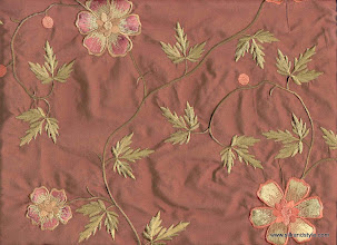 Photo: Mysore 05 - Mirage Series Embroidery - Coral