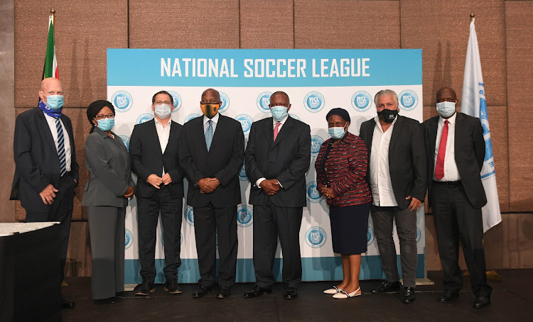 New PSL Executive members pose for a photograph.
