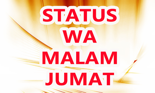Status WA Malam Jumat - náhled