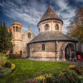 The Round Church, Cambridge by Krasimir Lazarov - Buildings & Architecture Places of Worship ( england, church, cambridgeshire, place of worship, architecture, cambridge, united kingdom )