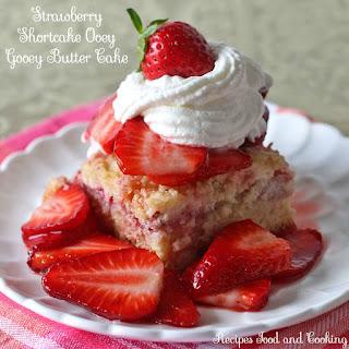 Strawberry Shortcake Ooey Gooey Butter Cake Recipe
