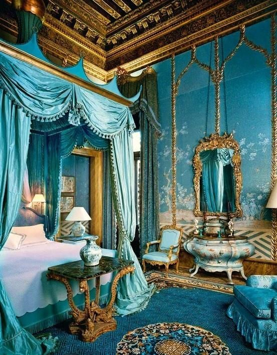 Blue Princess Themed Bedroom Ideas